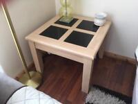 White Oak Coffee/Lamp table