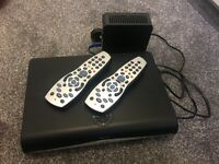 Sky box and 2x remotes