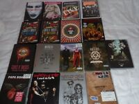 Loads of Rock Dvds, GnR, KISS, HIM, Motley Crue, Blondie, Marilyn Manson, Metallica, Papa Roach