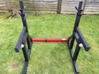 Bodymax CF415 Squat Rack with Spotter Catchers