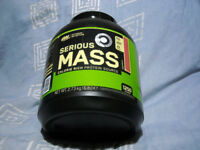 SERIOUS MASS by Optimum Nutrition 2.7KG tub SEALED Protein shake Strawberry (great for gym workout)