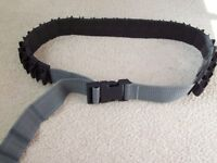 Quick release cartridge belt