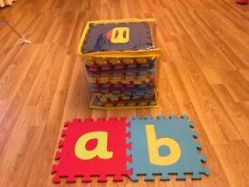 Childs alphabet floor puzzle (ELC)