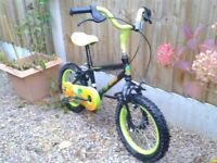 EXCELLENT KIDS CHILDS FIRST BIKE FROM HALFORDS*APOLLO*