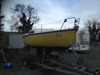 Albin Veggen sailing boat