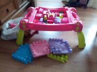 Large Lego brick table