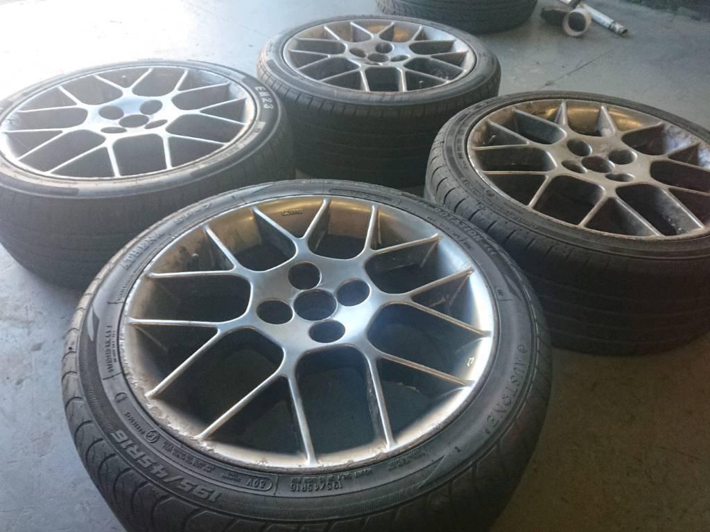"Genuine OEM Mazda MX-5 special edition 16"" 4x100 enkei alloy wheels + tyres"