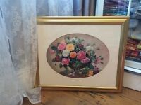 Gorgeous large Albert Williams framed print