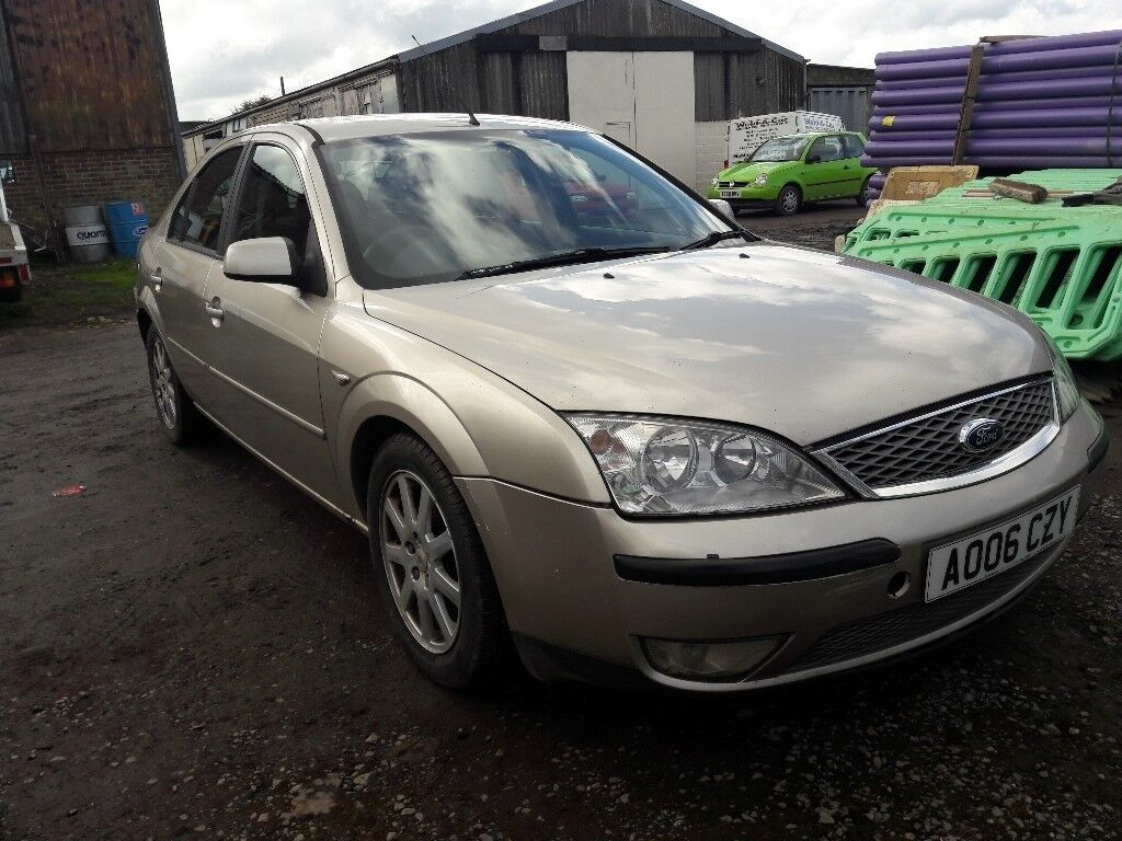 ford mondeo mk3 2 0 tdci stars and runs no mot in. Black Bedroom Furniture Sets. Home Design Ideas