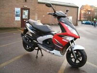 Wk gp2 50cc scooter moped 2015 with 2000 miles 2 stroke