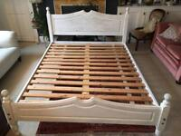 King Size Wooden Bed - Annie Sloan