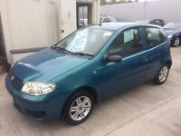 55 Fiat Punto 1.2 Active 8v 3dr - Full MOT - Only 72,000 Miles - Alloys - Ideal 1st Car- PX POSSIBLE