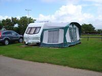 Elddis Whirlwind EX2000 2 berth touring caravan for sale.