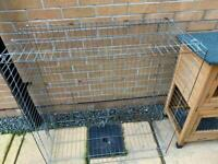 Rabbit cage and runner