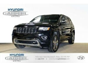 2015 Jeep Grand Cherokee OVERLAND GPS - TOIT OUVRANT - CUIR