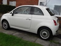 fiat 500 lounge 2012 light city steering £30 a year road tax