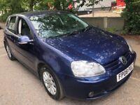 VW VOLKSWAGEN GOLF 1.9 DIESEl 105 BHP 2008 FULL HISTORY 2 KEYS CLEAN CAR