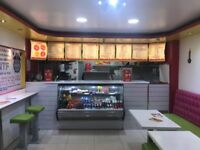 Fast Food Takeaway Business For Sale - 5 Flats Upstairs Included - Huge Footfall - Wilmslow Road