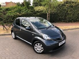 2006 TOYOTA AYGO 1.0 5 DOOR AIRCON FULL HISTORY LADY OWNER