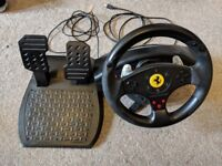 Thrustmaster Ferrari GT Experience PS3/PC Steering Wheel/Pedals