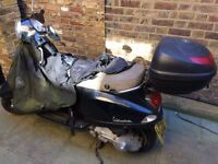 Vespa LX 125 with 1 year MOT