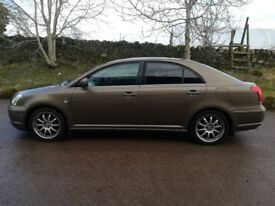 TOYOTA AVENSIS T3X 1.8 spare or repairs
