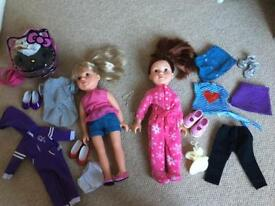 Designer Friends dolls & clothes