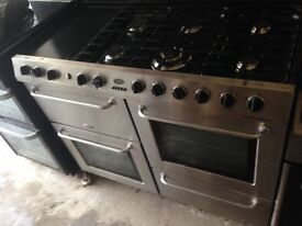 Belling stainless steel Range gas cooker 100cm..Mint free delivery