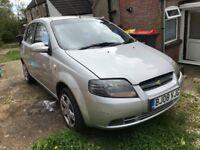 Chevrolet Kalos 1.2 petrol 2008,spares or repair,spares & repair, spares and repair