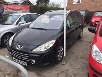Peugeot 307 Estate 1.6l 5 Door 7 seater Diesel