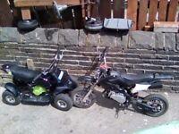 Mini moto crosser and quad 50cc £150 07448333495