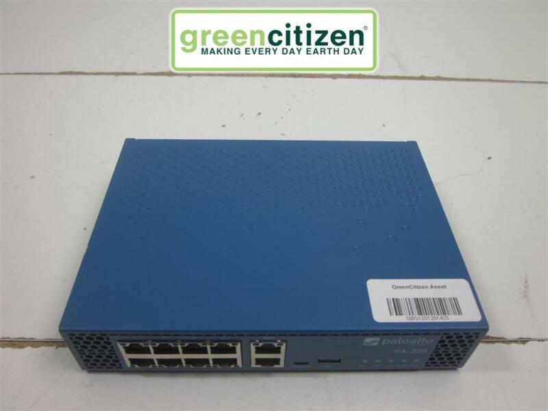 Palo Alto Networks PA-220 Network Security Appliance Firewall NO AC