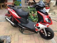 Longjia rapture 125cc scooter