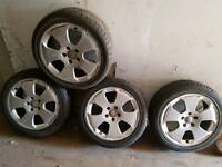 Audi Alloys and z rated tyres