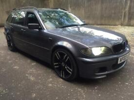 image for BMW 320d M-sport excellent runner px/swaps