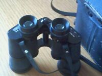 Binoculars with case good condition