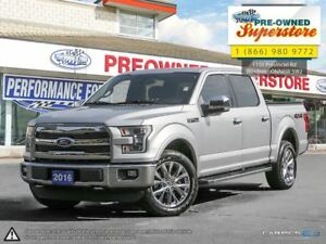 2015 Ford F-150 LARIAT>>>NAV, CHROME PACKAGE<<<