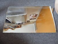 Mirror 'Tiles' 19.5 x 35cm