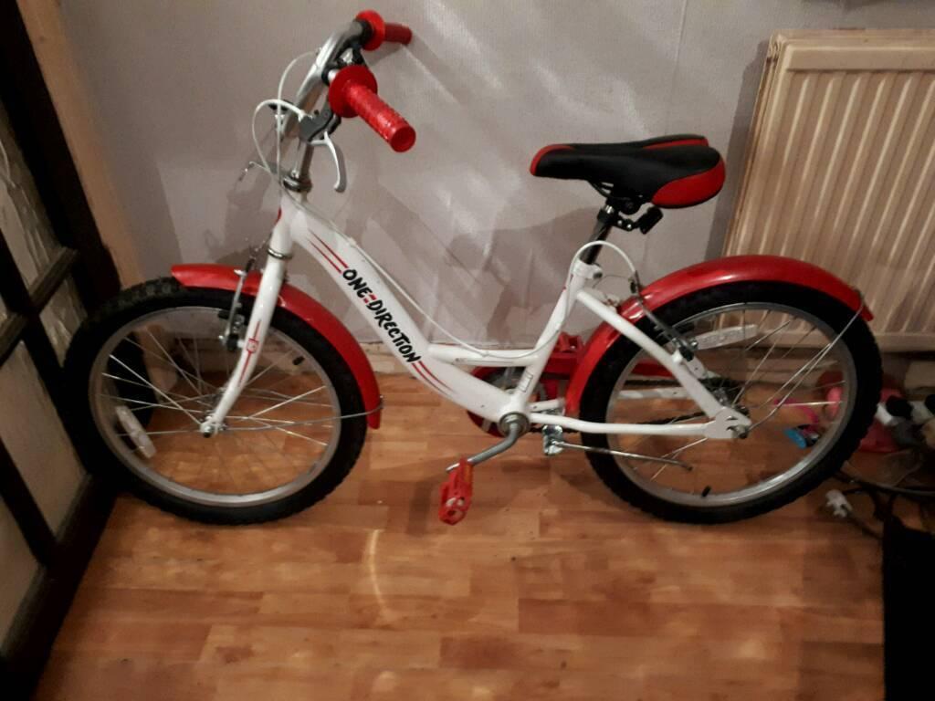 Girls One Direction Bike 20 Wheels Like New In Sketty