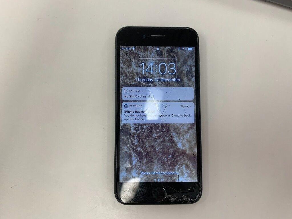 Iphone 7 Unlocked Broken Screen In Islington London Gumtree