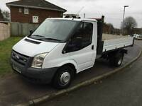 Ford transit 2.4litre 1.15 6speed tipper 2008