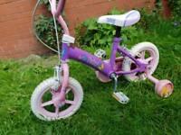 "Kids Girls 12"" Fairy Bike Bicycle"