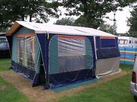 Racelet quickstop folding camper (six berth) trailer tent