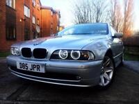 (((BMW 5 SERIES 520I AUTO NAV TV/CD M-SPORT 2.2 3KEYS PRIVATE PLATE FULL SERVICE HISTORY💯