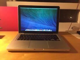 Macbook Aluminum Unibody apple mac laptop with 8gb ram pro memory in full working order