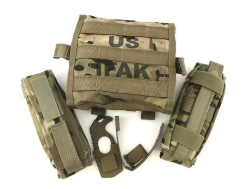 Military Issued Multicam Complete IFAK II Kit, Improved First Aid Kit II