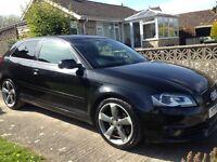 Audi A3 2.0 tdi s-line black edition quattro