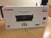 **Brand new, in original box** Canon colour laser cartridge 723- Black