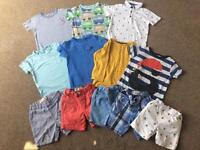 12 Piece NEXT Boys Spring / Summer Clothes Bundle 2-3 Years