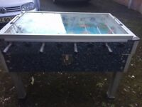 Football Table - Glass Topped